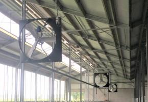Horizontale ventilatie